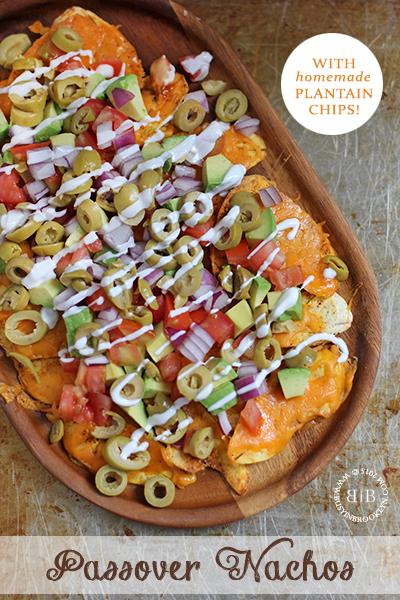 Passover nachos #passover #vegetarian #plantains #kosher #appetizer