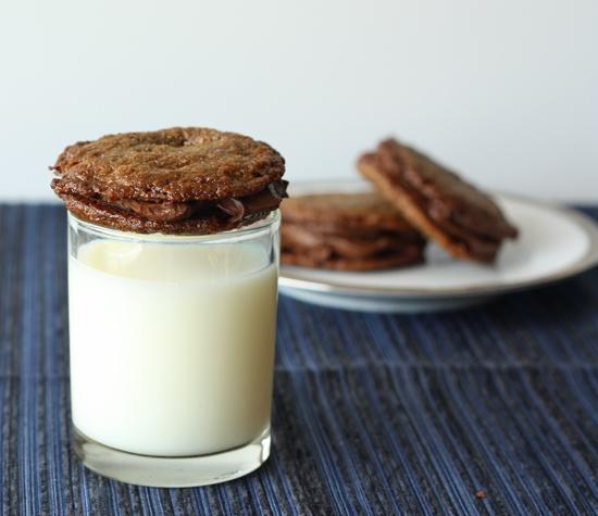 pecan filled ganache cookies #passover #glutenFree #dessert #chocolate