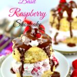Vegan Lemon Basil Raspberry Shortcake - #vegan #desert #kosher #raspberry #cake #mothersDay #brunch #lemon #basil