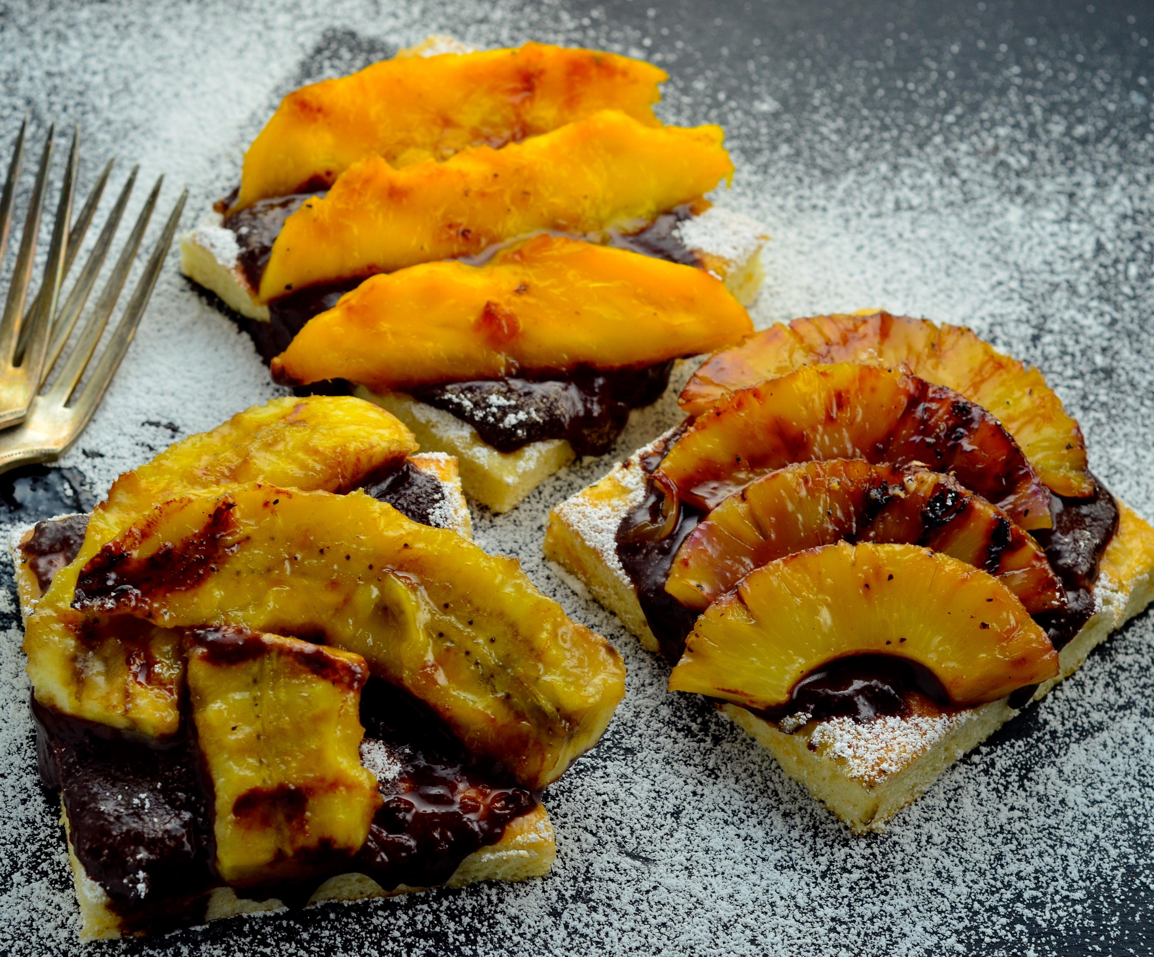 grilled fruit soursop fruit