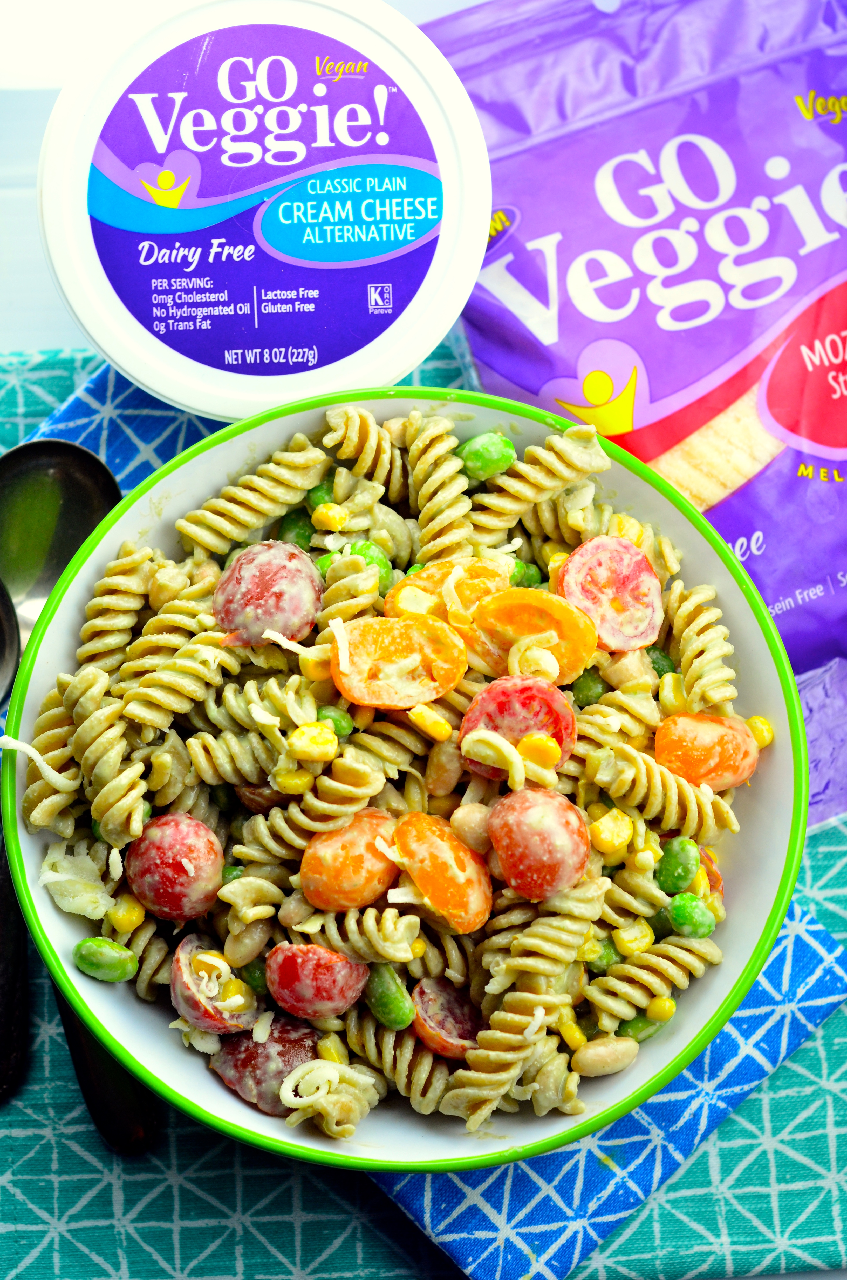 Vegan Summery Pasta Salad