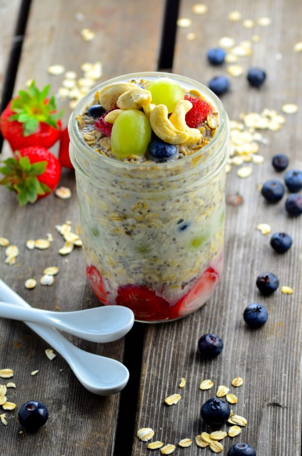 Cashew & Banana Overnight Oats