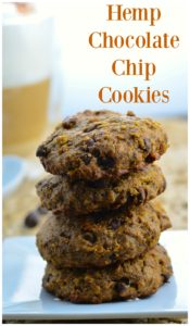Chocolate Chip Hemp Protein Cookies