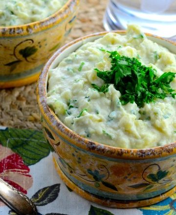 Tahini Mashed Potatoes