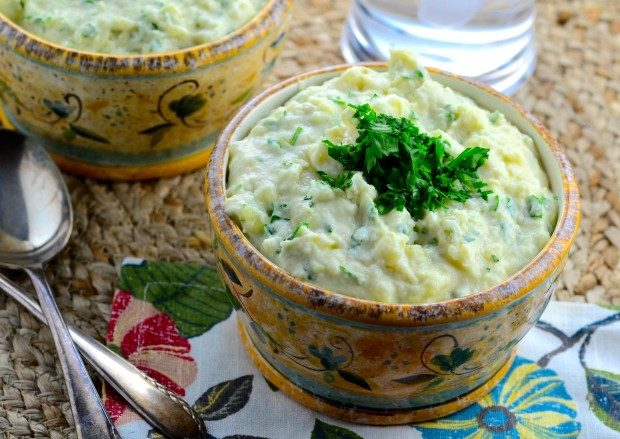 tehina mashed potatoes