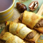 Bourbon Pecan Cream Crescent Rolls - great for breakfast, dessert or snack,. Vegan, dairy free, no refined sugars, full of decadent goodness