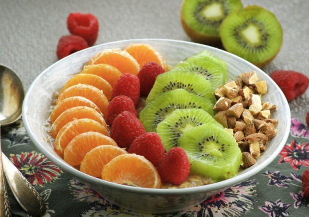 Give your morning a powerful immune boosting start with this mouthwatering Power C Oatmeal and Fruit Bowl