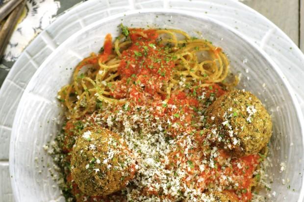 The best vegan meatballs you will ever taste! Guaranteed!