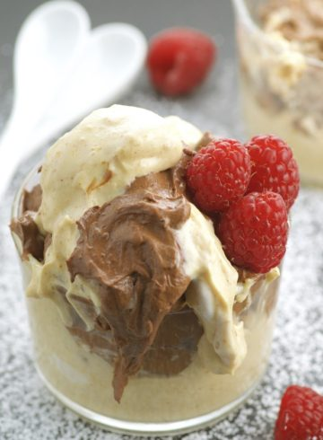 Chocolate & Salted Peanut Butter Mousse