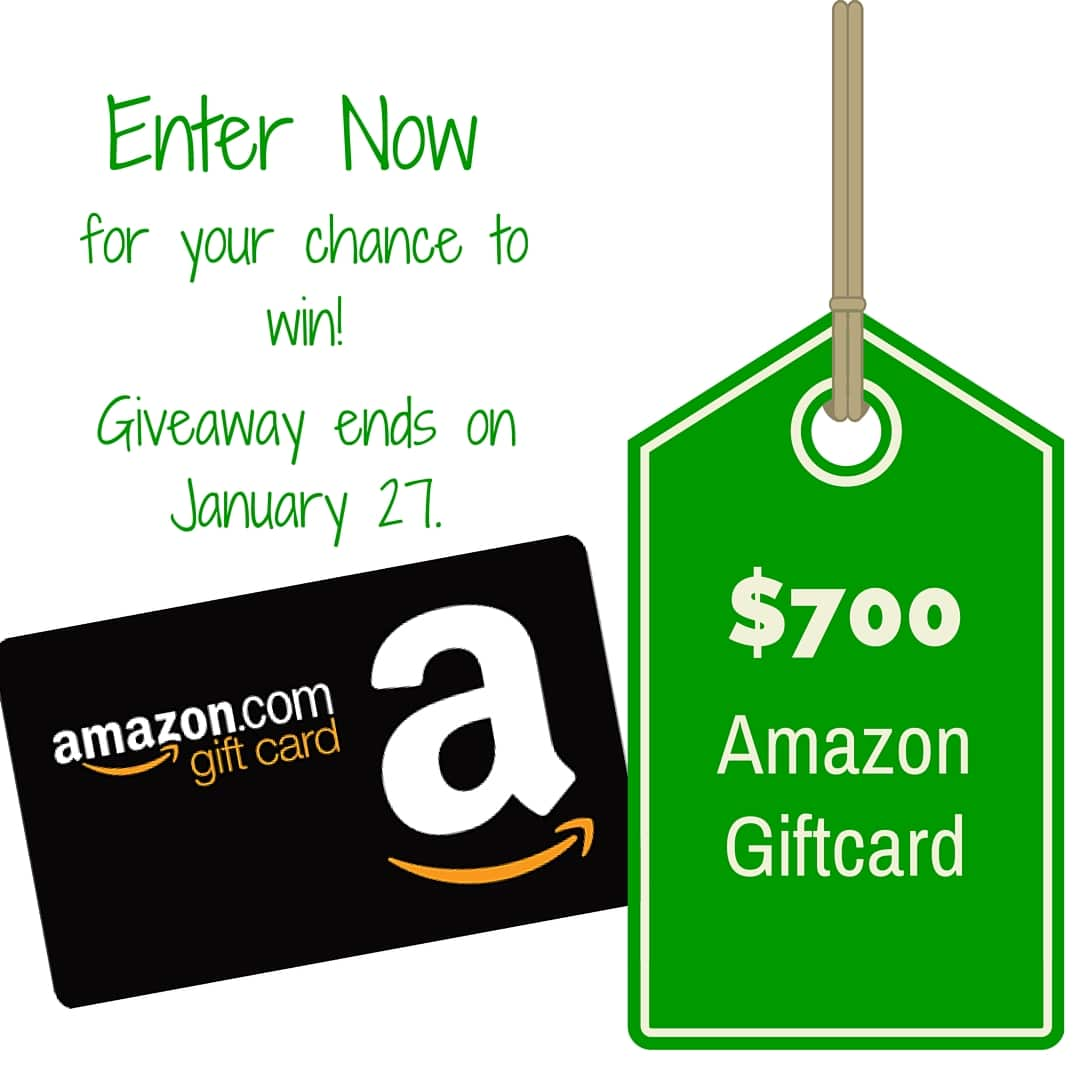 $700 Amazon Gift Card Giveaway