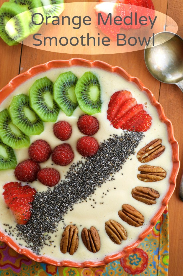 Try a smoothie bowl for breakfast, it takes longer to eat and it will keep you fuller longer. Equally delicious. #BestBlendsForever #ad
