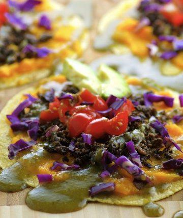 Vegan Butternut Squash Soft Tacos