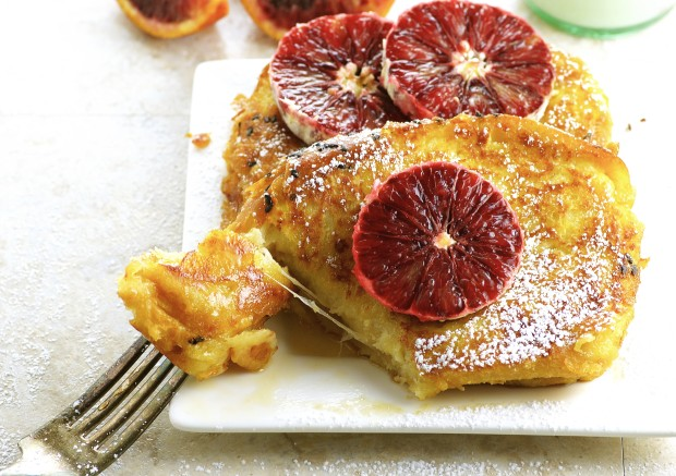 Cheese Stuffed French Toast