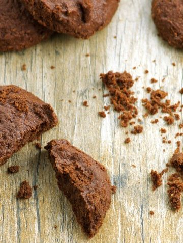 Vegan Flourless Chocolate Cookies