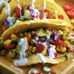 You're gonna love these Vegan Gluten Free Chickpea Tacos ! A great addition to your taco recipe repertoire ;)
