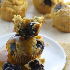 Bluberry Corn Muffins great summer breakfast