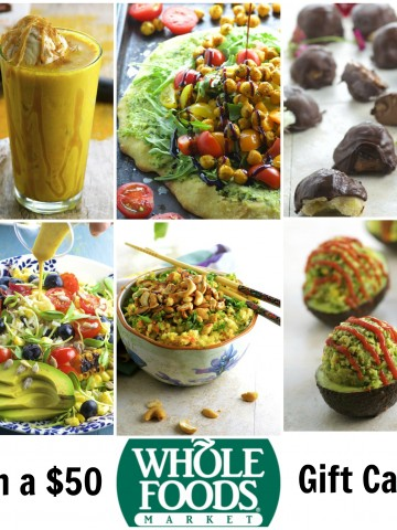 Tell us what you think, answer our 10 question survey and you will get a chance to win a $50.00 Whole Foods Gift Card