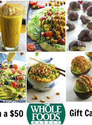 TELL US WHAT YOU THINK AND WIN A $50 WHOLE FOODS GIFT CARD