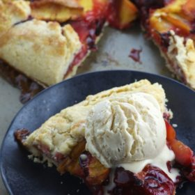 Summer Stone Fruit Galette