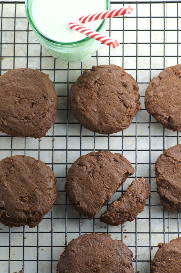 A little buttery, a little fudgy and slightly crisp, these Chocolate Chocolate Chip Cookies bring all the goodness of avocado oil and kid approved!