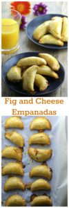 Fig and cheese empanadas