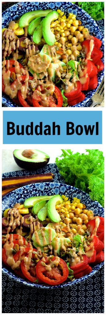 Gather up all you leftover summer veggies and make this nutrient packed, super filling End Of Summer Buddha Bowl! You'll love it even more than back to school... ;)