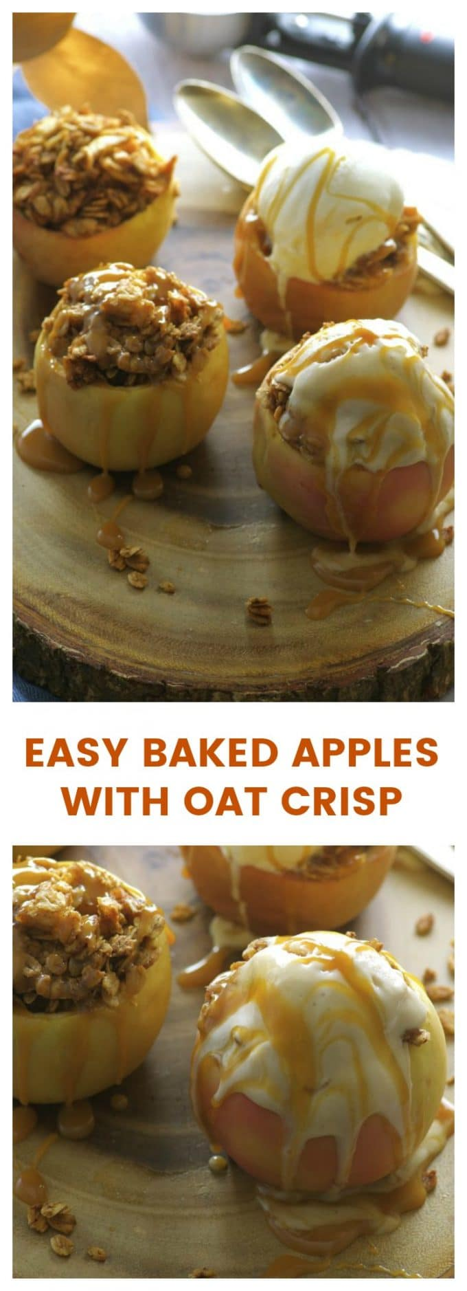 Easy Baked Apples With Oat Crisp May I Have That Recipe