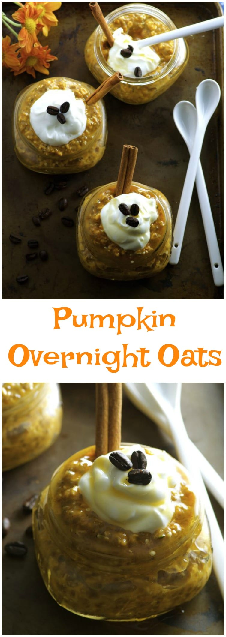 Are you a pumpkin spice lover? Do you also love coffee? Then this breakfast recipe is for you. With these Pumpkin Spice Latte Overnight Oats, you can have your PSL and eat it too!