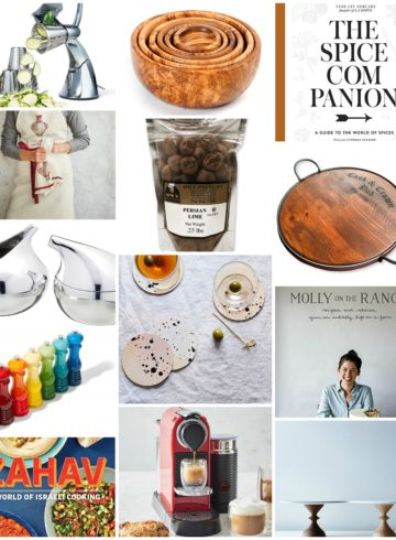 Best Gift Guide For The Foodie Host and Hostess