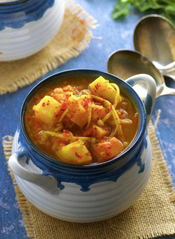 Yemenite Vegetable Soup