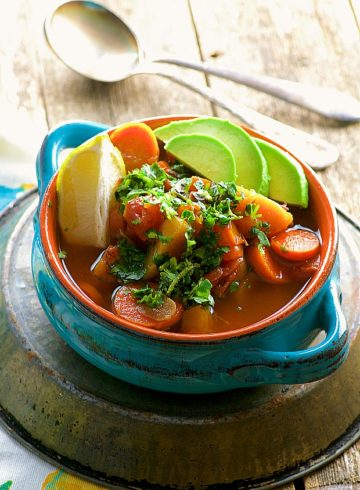 Slow Cooker Light No Chicken Mexican Soup