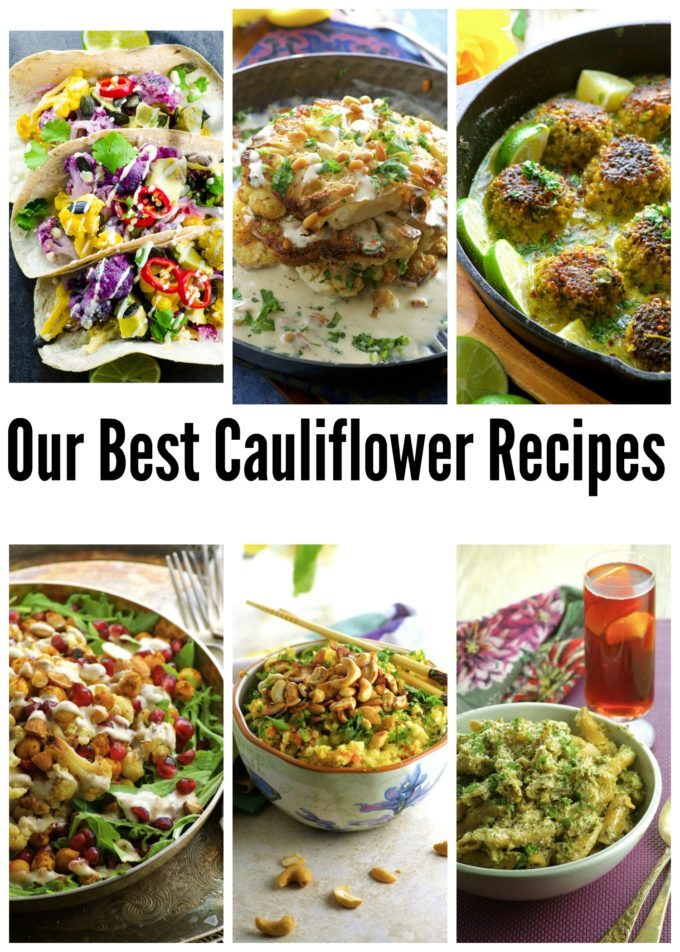 our best cauliflower recipes