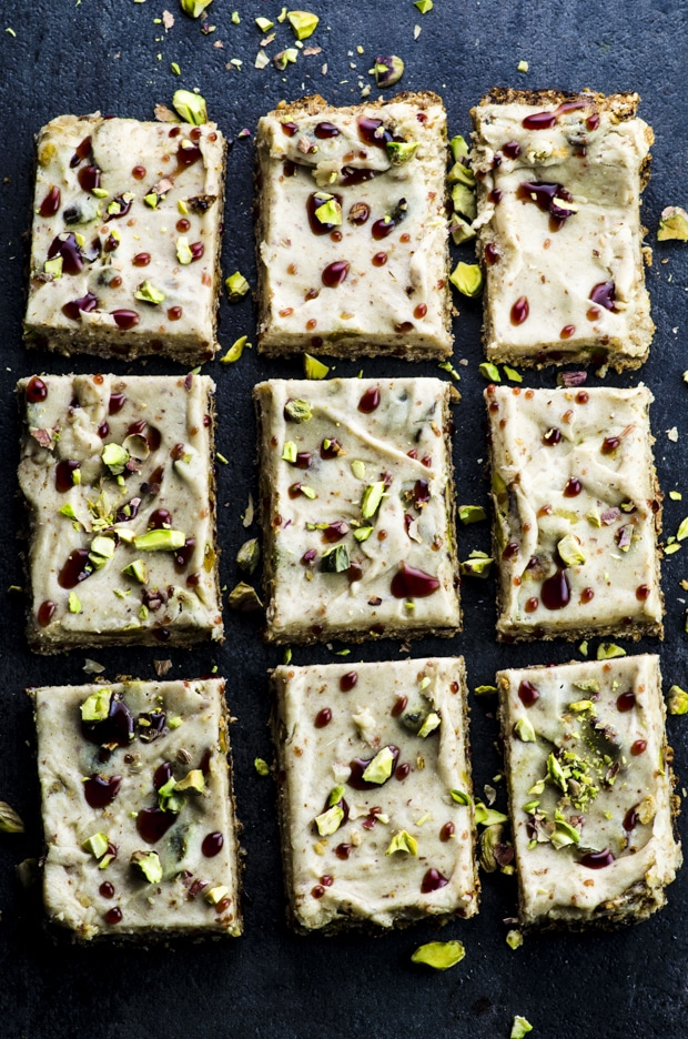 These vegan halvah bars are definitely not your everyday dessert! Absolutely irresistible, strangely addictive and gluten free