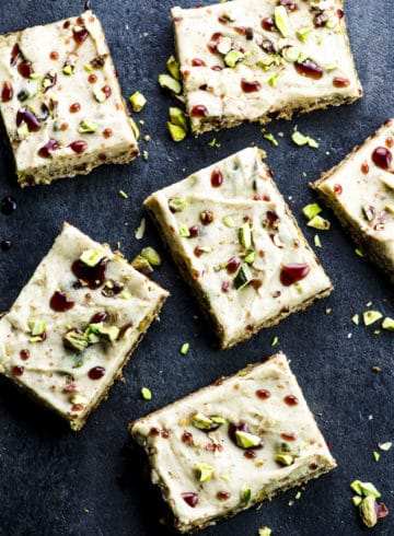 Vegan Halva Bars