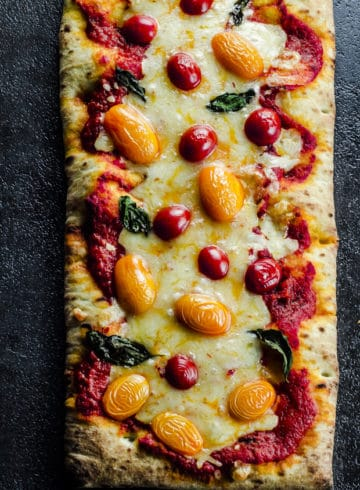 5 Ingredient Spicy Margherita Pizza