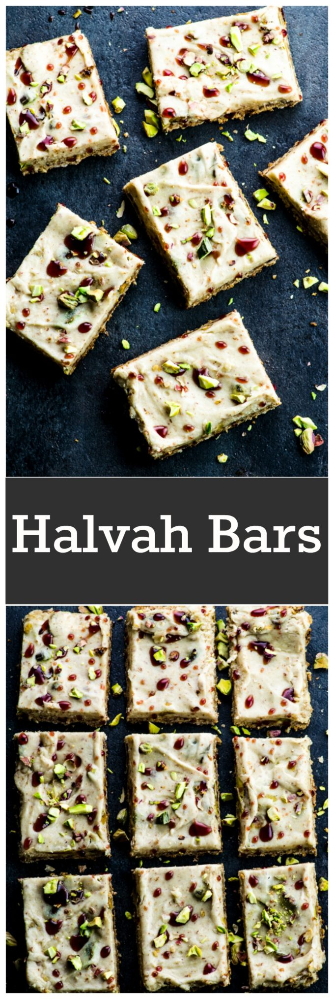 These vegan halvah bars are definitely not your everyday dessert! Absolutely irresistible, strangely addictive and gluten free.
