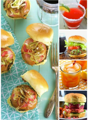 10 Veggie Burgers And Drinks For Memorial Day
