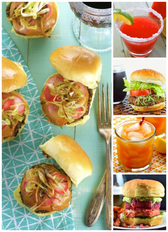Here's a roundup of some of our summer favorite veggie burgers. 10 Veggie Burgers And Drinks For Memorial Day ... or any summer BBQ!