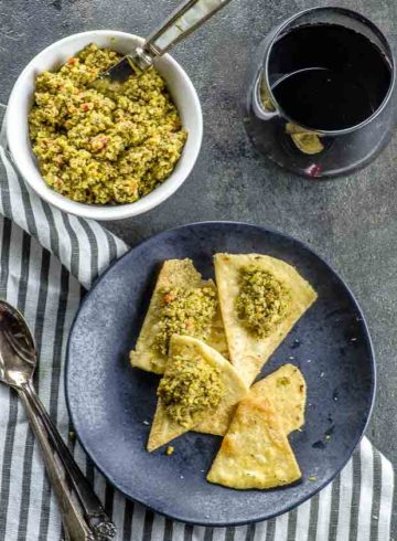 Simply the Best Za'atar Olive Tapenade