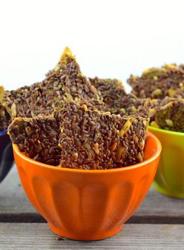 Flax & Chia Seed Crackers – Vegan & Gluten Free