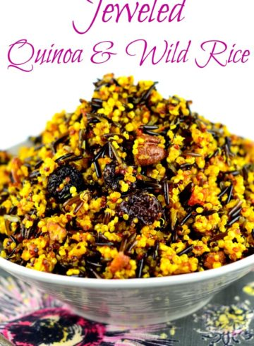 Jeweled Wild Rice & Quinoa Side Dish