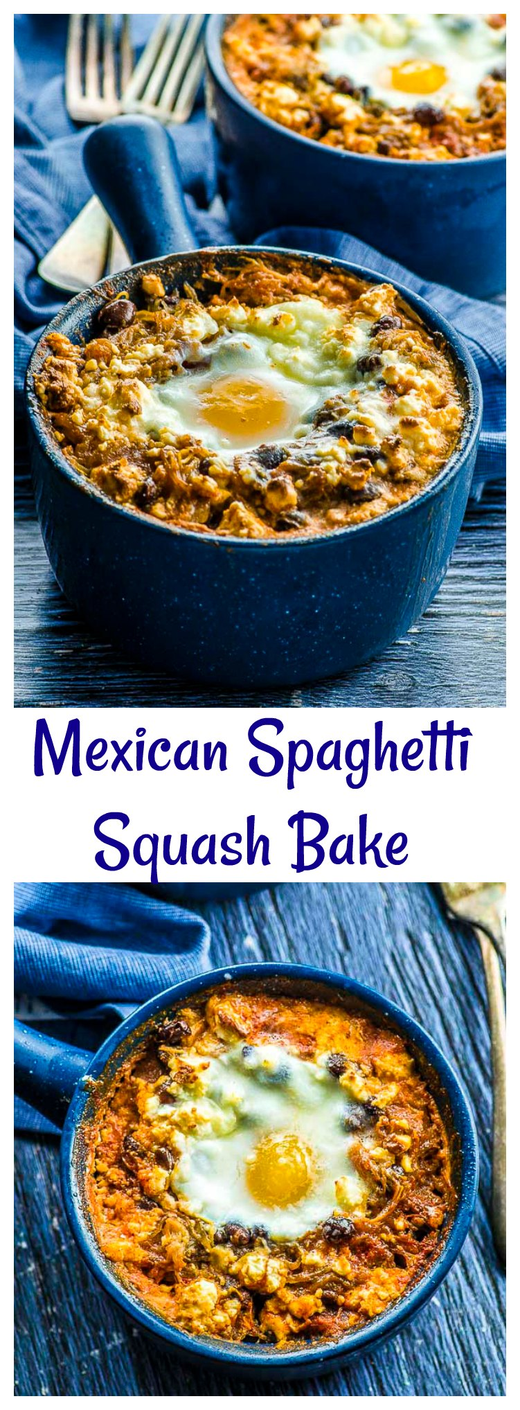 Here's a super easy Tex-Mex Spaghetti Squash Bake that only requires a few ingredients and is bursting with flavor. A complete and balanced meal that can be easily made vegan!