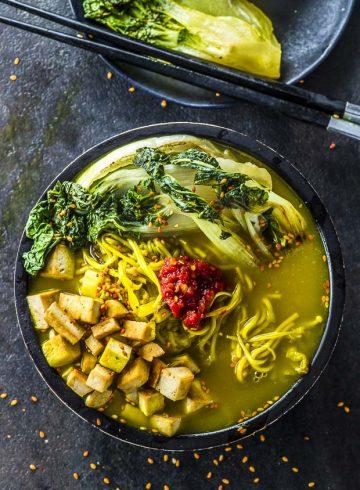 Immune Booster Vegan Ramen Bowl