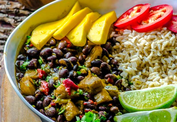 Black Beans And Rice With Plantains May I Have That Recipe