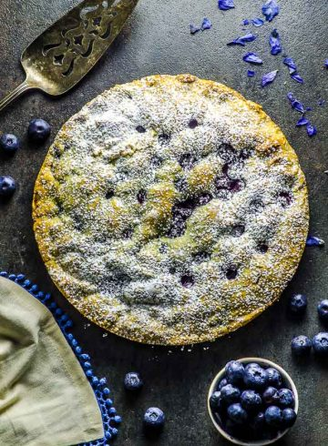 Lemon Blueberry Cake (GF)