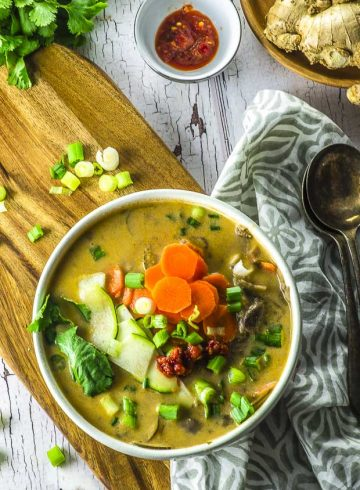 Not Just for Passover Recipes – Thai Coconut Soup