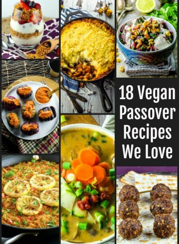 18 Vegan Passover Recipes We Love