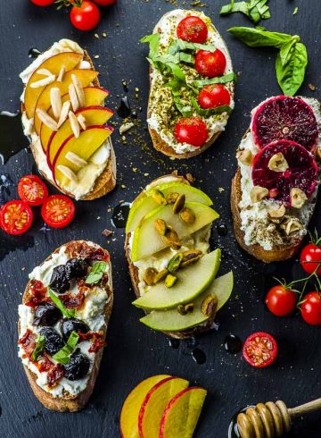 Seven Stunning  Ricotta Crostini Recipes