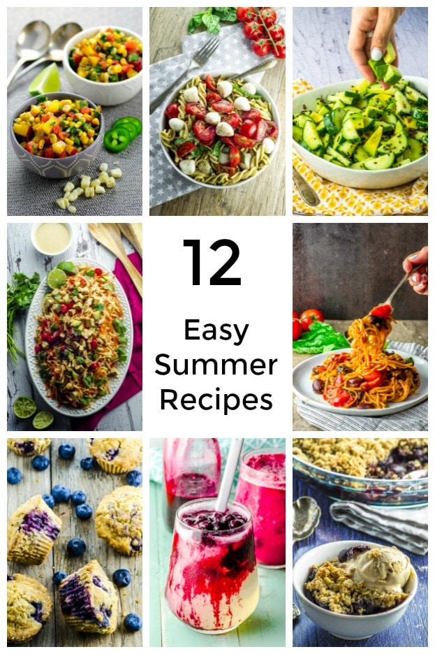 Summer Recipes should be light, fresh, colorful and their flavor enhanced by seasonal produce.  We have collected for you our best Summer Recipes. Enjoy! #recipes #summer #vegan #kosher