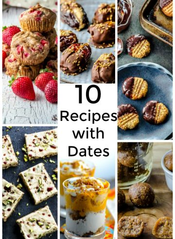 10 Deliciously Tasty Recipes with Dates